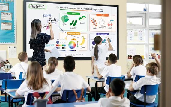 Màn hình chuyên dụng dành cho giáo dục Samsung Flip 85″ mang lại nhiều tiện ích