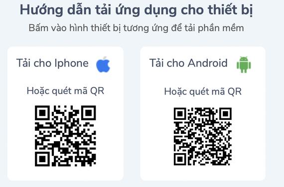 Dễ dàng cài đặt app Oxy 247 trên di động