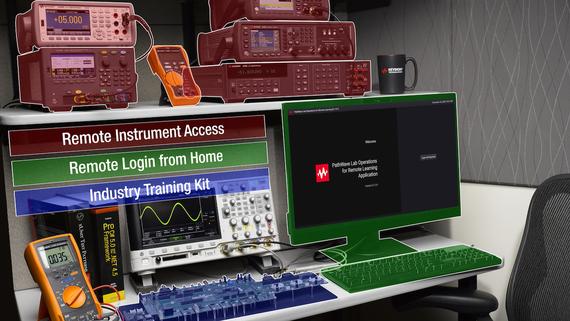 Giải pháp phòng lab truy cập từ xa được thiết kế cho việc học trực tuyến