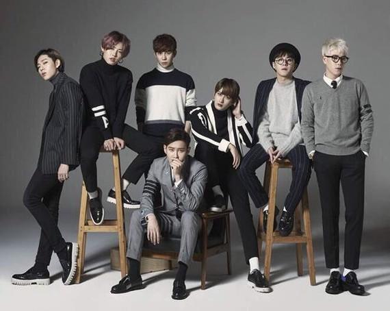Nhóm nhạc Block-B sẽ tái ngộ khán giả TPHCM