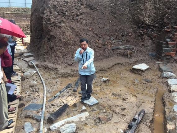 Phát lộ nhiều dấu tích mới tại Hoàng Thành Thăng Long