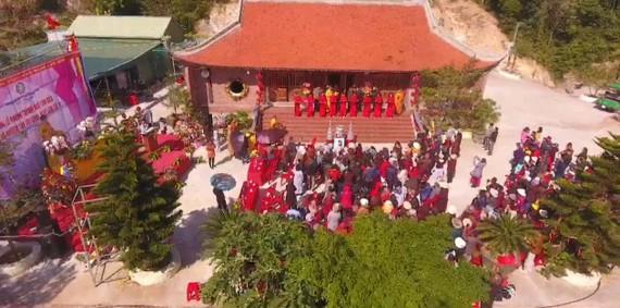 Chùa Trúc Lâm Cô Tô được xây dựng tại khu đồi Truyền hình, có tổng diện tích hơn 2,5ha