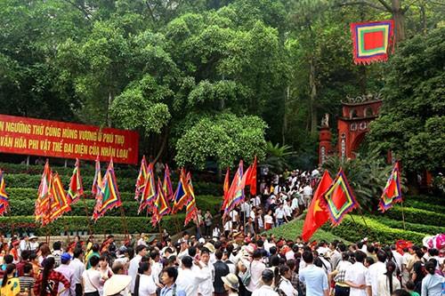 Hạn chế số lượng đại biểu tham dự lễ Giỗ Tổ Hùng Vương năm 2020
