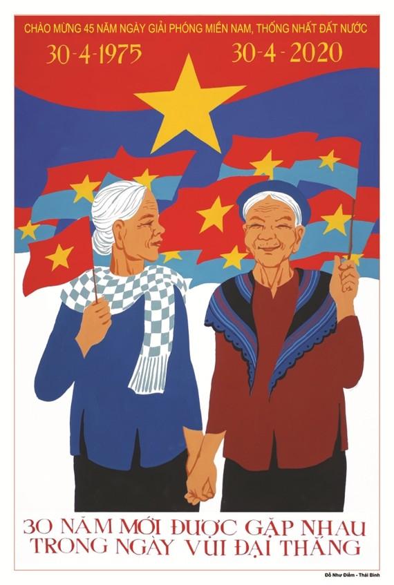 16 tác phẩm đoạt giải sáng tác tranh cổ động kỷ niệm 45 năm Ngày giải phóng miền Nam