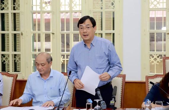 Ông Nguyễn Trùng Khánh, Tổng cục trưởng Tổng cục Du lịch Việt Nam phát biểu tại hội nghị