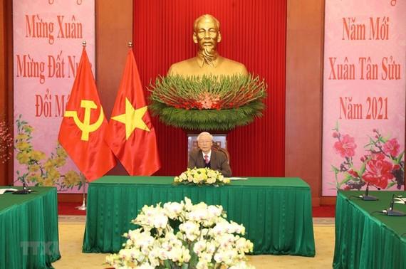 黨中央總書記、國家主席阮富仲。