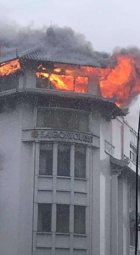 火警現場。
