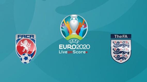 2020年歐洲盃D組末輪捷克對陣英格蘭(圖源:互聯網)