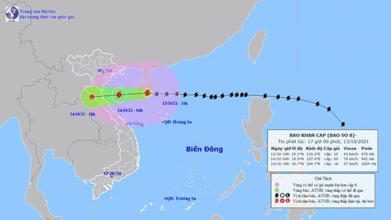 8號颱風走向。