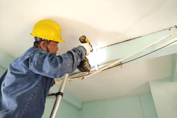 Sửa chữa, thay mới miễn phí hệ thống điện tại cư xá Thanh Đa