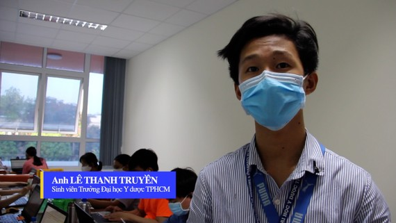 Sinh viên ngành y hỗ trợ phòng chống dịch Covid-19