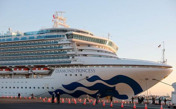 Thêm 88 trường hợp nhiễm Covid-19 trên du thuyền Diamond Princess