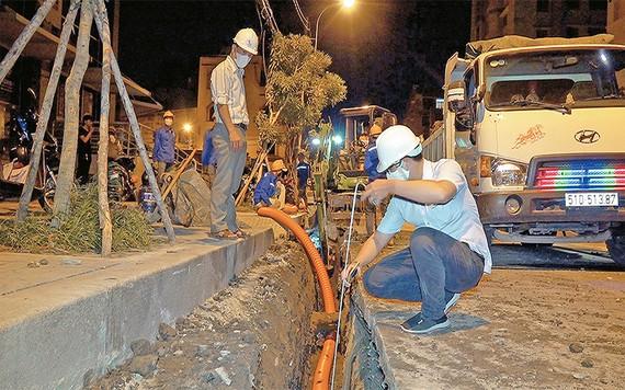 TPHCM ngầm hóa 1.300km lưới điện trong giai đoạn 2021-2025
