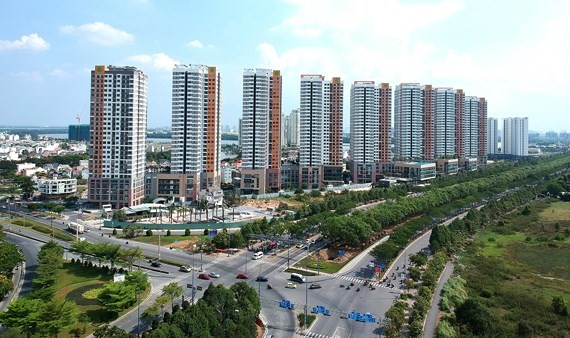 Real estate companies issue bonds to mobilize capital. (Photo: SGGP)