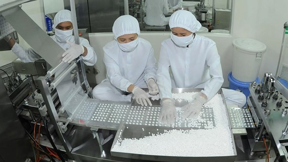 Pharmaceutical manufacturing for domestic market. (Photo: SGGP)