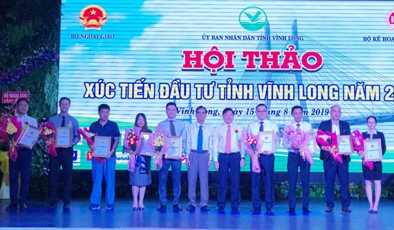 12 projects are given investment certificates in Vinh Long Province. (Photo: SGGP)