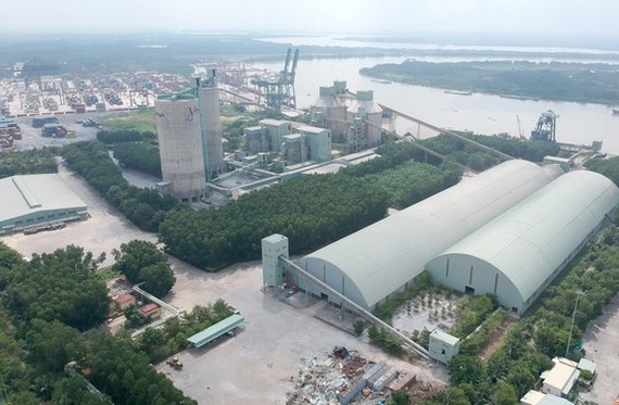 Ha Tien Cement Factory in District 9 in Ho Chi Minh City. (Photo: SGGP)