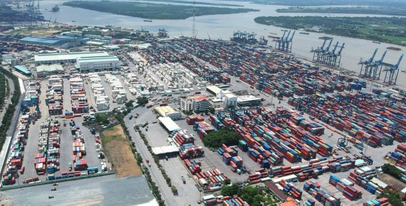 The logistics system of HCMC constantly develops. (Photo: SGGP)