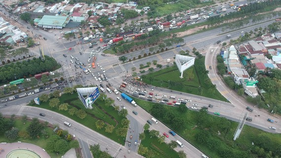 The An Phu intersection in District 2. (Photo: SGGP)