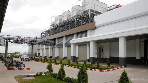 The chicken processing factory for export of Thai CP Group invested in Becamex Binh Phuoc Industrial Park inaugurates in December, 2020. (Photo: SGGP)