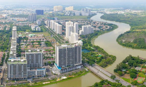 Vietnam is more and more developing. (Photo: SGGP)