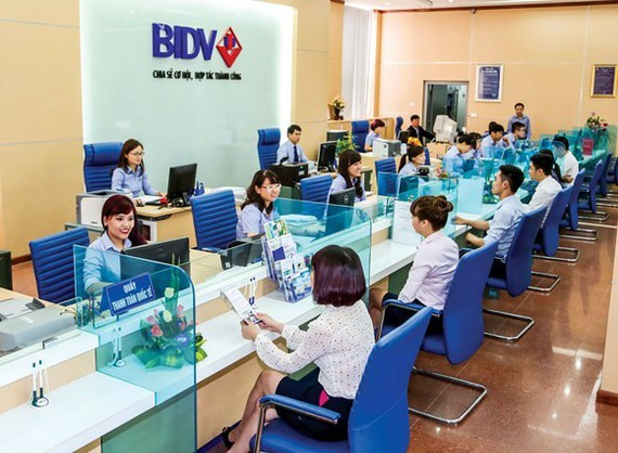 BIDV has just approved a plan to increase its charter capital in 2021 by more than VND8.3 trillion. (Photo: SGGP)