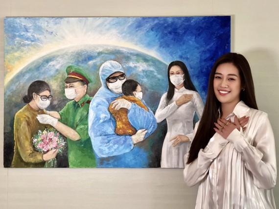Hoa hậu Khánh Vân gửi tặng 150 triệu đồng cho Quỹ phòng chống dịch Covid-19