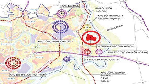 Duyệt thi quốc tế ý tưởng quy hoạch khu đô thị sáng tạo phía Đông hơn 21.172ha
