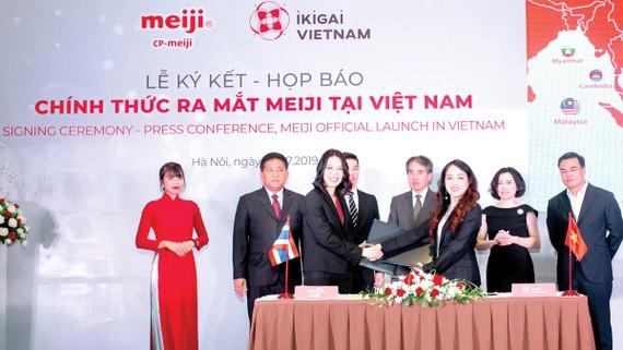 CP-Meiji và Ikigai Việt Nam hợp tác phân phối sữa Meiji