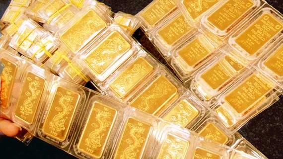 Vàng SJC đã lên hơn 58 triệu đồng/lượng.