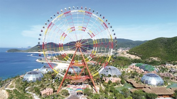 Vietnam's biggest ferris wheel launched in Nha Trang