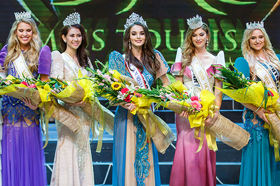 The top five contestants of the 2017  World Miss Tourism Ambassador