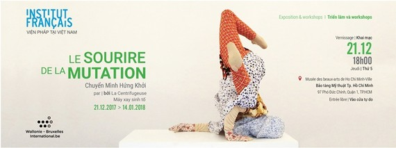 Exhibition displays artworks of Vietnam, French and Belgian artists