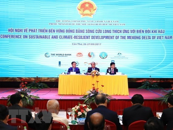 Prime Minister Nguyen Xuan Phuc attends conference on Mekong Delta development (Source: VNA)