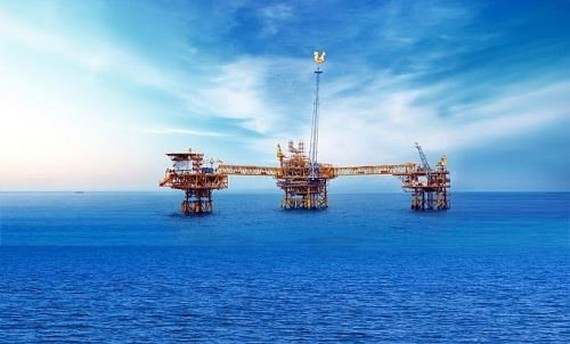 Cuu Long Joint Operating Company (Cuu Long JOC) is focusing its resources to develop the second phase of the Su Tu Trang (White Lion oil field). (Photo: VNA)