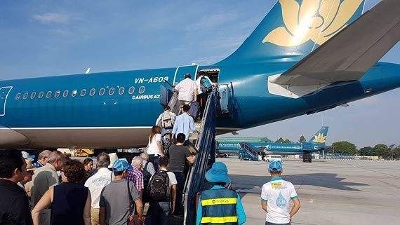 More than 40,000 cheap airline tickets will be launched in the Vietnam International Travel Mart 2018. (Photo: Sggp)