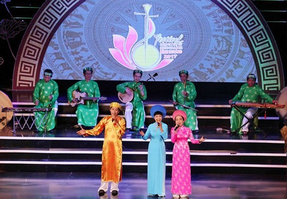Vietnam's Don ca tai tu (southern folk music) is recognized by UNESCO as an Intangible Cultural Heritage of Humanity. (Photo: Sggp)