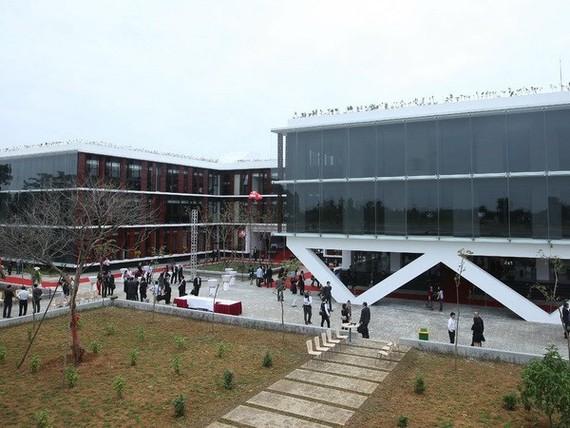The software park at Hoa Lac Hi-tech Park (Photo: VNA)