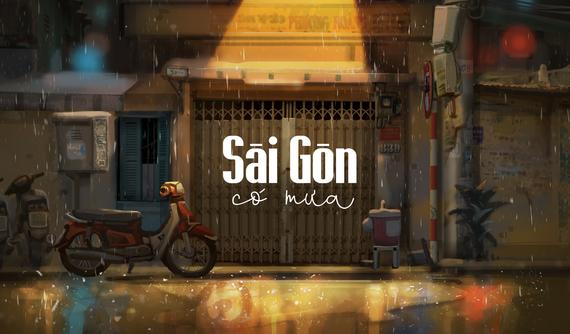 """Falling in love with """"Saigon in the rain"""""""