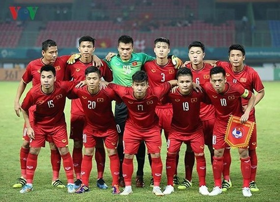 Vietnam national men's football team has held on to the No. 1 spot in the Southeast Asia region (Source: https://english.vov.vn)