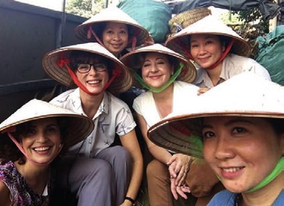 """A scene in the film """"Thi Mai"""""""