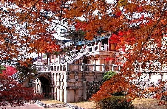 UNESCO World Heritage Site Bulguksa Temple in Gyeongju