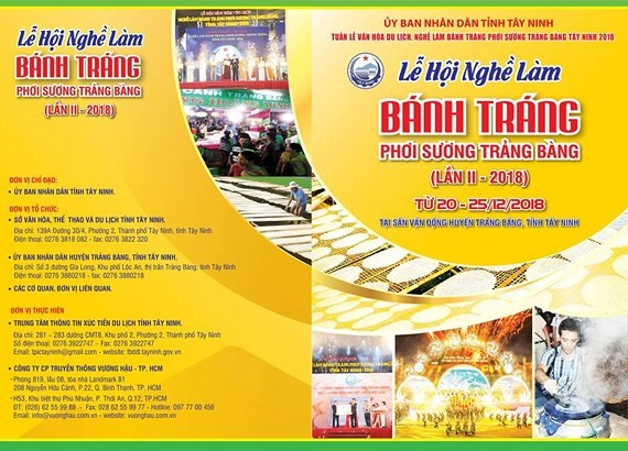 2nd Trang Bang dew-soaked rice paper festival opens