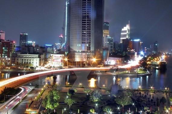 A corner of HCM City (Photo: VNA)