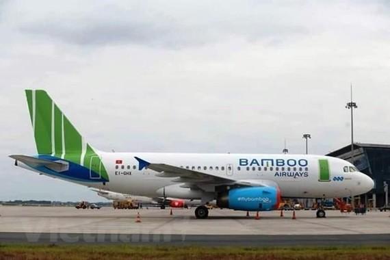 An aircraft of Bamboo Airways (Photo: VNA)