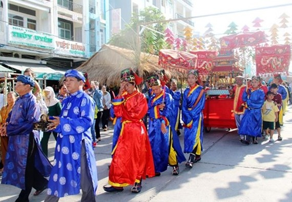 A ceremony marking the 199th death anniversary of founder Do Cong Tuong