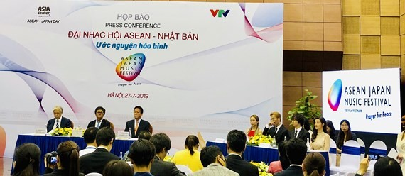 ASEAN - Japan Music Festival 2019 held in Hanoi