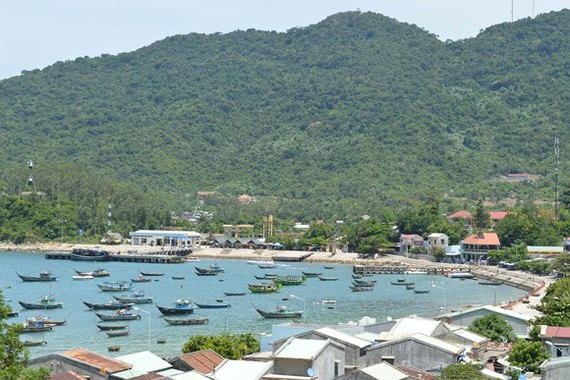 A corner of the Cham Islands