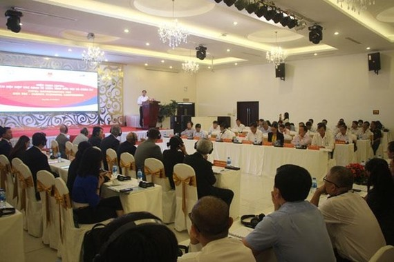 Overview of the conference (Photo: https://www.bentre.gov.vn)