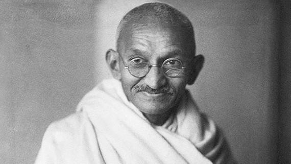 National hero of India Mahatma Gandhi (File photo)
